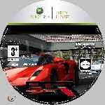 miniatura Pgr Project Gotham Racing 3 Cd Custom Por Azufre cover xbox360