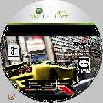 miniatura Pgr Project Gotham Racing 3 Cd Custom V2 Por Azufre cover xbox360