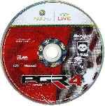 miniatura Pgr Project Gotham Racing 4 Cd Por Seaworld cover xbox360