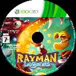 miniatura Rayman Legends Cd Custom Por Ravenn cover xbox360