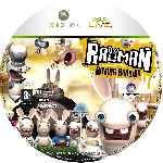 miniatura Rayman Raving Rabbids Cd Custom Por Spyner cover xbox360