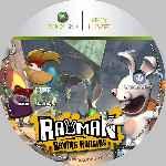 miniatura Rayman Raving Rabbids Cd Custom V2 Por Spyner cover xbox360