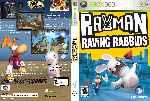 miniatura Rayman Raving Rabbids Dvd Custom Por Trompozx cover xbox360