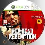 miniatura Red Dead Redemption Cd Custom V2 Por Azufre cover xbox360