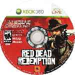 miniatura Red Dead Redemption Cd Por Jinete Nocturno cover xbox360
