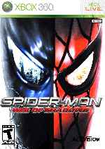 miniatura Spider Man Web Of Shadows Frontal V4 Por Mauroxdaaa95 cover xbox360
