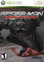 miniatura Spider Man Web Of Shadows Frontal V7 Por Mauroxdaaa95 cover xbox360