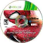 miniatura The Amazing Spider Man 2 Disco Custom Por Mauroxdaaa95 cover xbox360