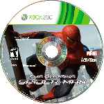 miniatura The Amazing Spider Man Disco Custom Por Mauroxdaaa95 cover xbox360