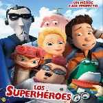 miniatura Los Superheroes Por Mrandrewpalace cover divx