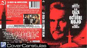 La Caza Del Octubre Rojo Cine De Guerra Volumen 15 Region 4 Carátula Dvd The Hunt For Red October 1990
