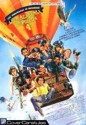 Loca Academia De Policia 4 Los Ciudadanos Se Defienden Carátula Dvd Police Academy 4 Citizens On Patrol 1987
