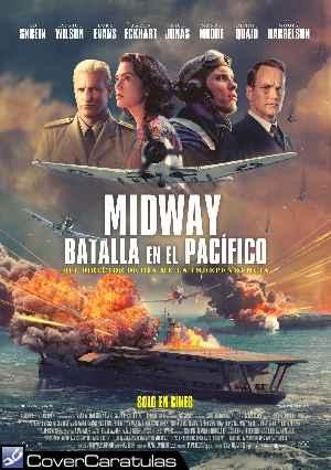 Midway Batalla En El Pacifico V02 Caratula Carteles Midway 2019