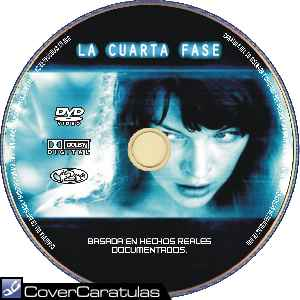 La Cuarta Fase - Custom · CARÁTULA DVD · The Fourth Kind ...