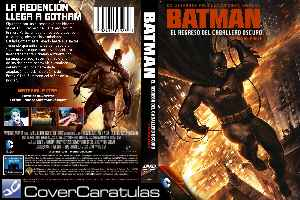 Batman El Regreso Del Caballero Oscuro Parte Ii Custom Carátula Dvd Batman The Dark Knight Returns Part 2 2013