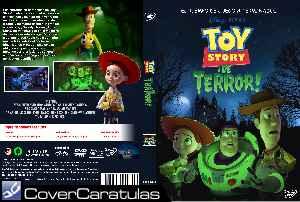 Toy Story De Terror Custom Caratula Dvd Disney Pixar S Toy