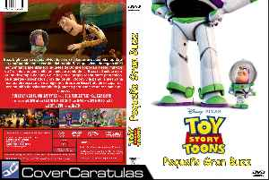 Toy Story Toons Pequeno Gran Buzz Custom Caratula Dvd Toy