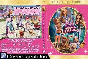 Barbie Y Sus Hermanas Perritos En Busca Del Tesoro Custom Carátula Dvd Barbie And Her Sisters In The Great Puppy Adventure Barbie Her Sisters Puppy Rescue 2015