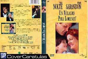 Un Milagro Para Lorenzo Custom Carátula Dvd Lorenzo S Oil 1992