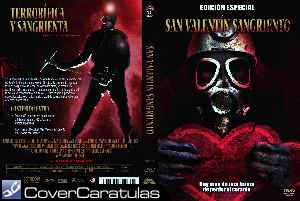 San Valentin Sangriento - 1981 - Custom · CARÁTULA DVD · My