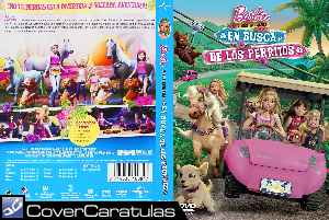 Barbie Y Sus Hermanas En Busca De Los Perritos Custom Carátula Dvd Barbie And Her Sisters In A Puppy Chase 2016
