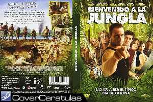Bienvenido A La Jungla Custom Carátula Dvd Welcome To The Jungle 2013