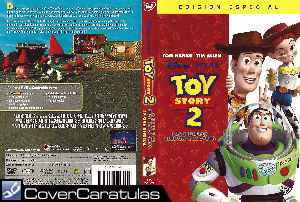 Toy Story 2 Region 1 4 V2 Caratula Dvd Toy Story 2 1999