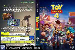 Toy Story 4 V2 Caratula Carteles Toy Story 4 2019