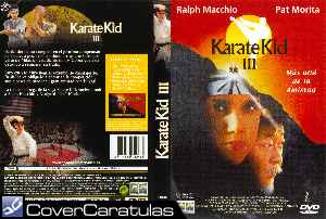 Karate Kid 3 El Desafio Final Carátula Dvd The Karate Kid Part Iii 1989