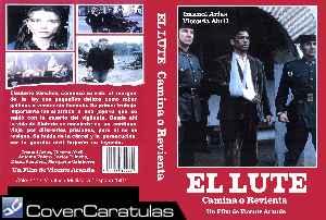 El Lute Camina O Revienta Custom V3 Carátula Dvd El Lute Camina O Revienta 1987