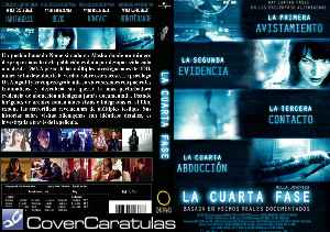 La Cuarta Fase - Custom · CARÁTULA DVD · The Fourth Kind ...