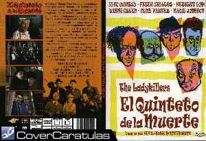 El Quinteto De La Muerte 1955 Slim Carátula Dvd The Ladykillers 1955