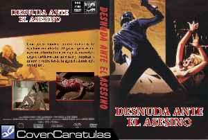 Desnuda Ante El Asesino Custom Carátula Dvd Nude Per L
