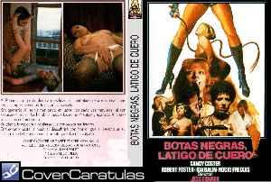 Botas Negras Latigo De Cuero Custom Carátula Dvd Botas Negras Látigo De Cuero 1983