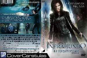 Inframundo El Despertar Region 4 Caratula Dvd Underworld Awakening Underworld 4 New Dawn 2012