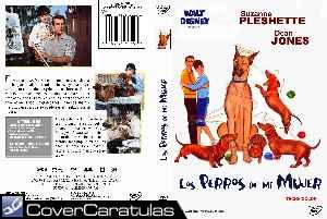 Los Perros De Mi Mujer Custom V3 Carátula Dvd The Ugly Dachshund 1965