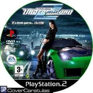 Caratula Ps2 De Need For Speed Underground 2 Cd Custom