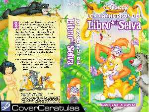 Los Cachorros Del Libro De La Selva Custom Carátula Dvd The Jungle Book S Jungle Cubs 1999