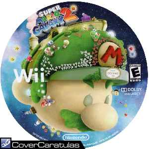 Carátula Wii De Super Mario Galaxy 2 Cd