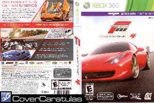 Carátula Xbox360 De Forza Motorsport 4 Dvd