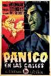 mini cartel Pánico en las calles
