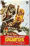 mini cartel La Batalla de los Simios Gigantes