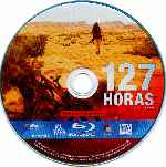 carátula bluray de 127 Horas - Disco