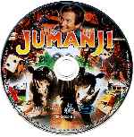 carátula bluray de Jumanji - Disco