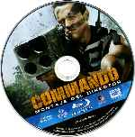 carátula bluray de Commando - Montaje Del Director - Disco