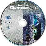 carátula bluray de Monstruos S.a. - 3d  - Disco 01