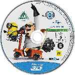 carátula bluray de Gru - Mi Villano Favorito - Pack Especial 3d - Disco 01