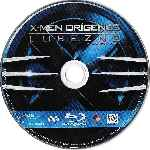 carátula bluray de X-men Origenes - Lobezno - Pack - Disco