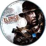 carátula bluray de El Unico Superviviente - 2013 - Disco