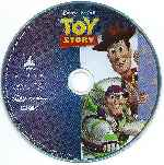 carátula bluray de Toy Story - Region A - Disco